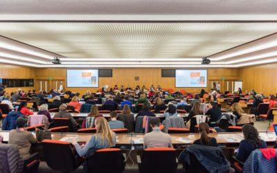 Association of conference interpreters doubles delegates
